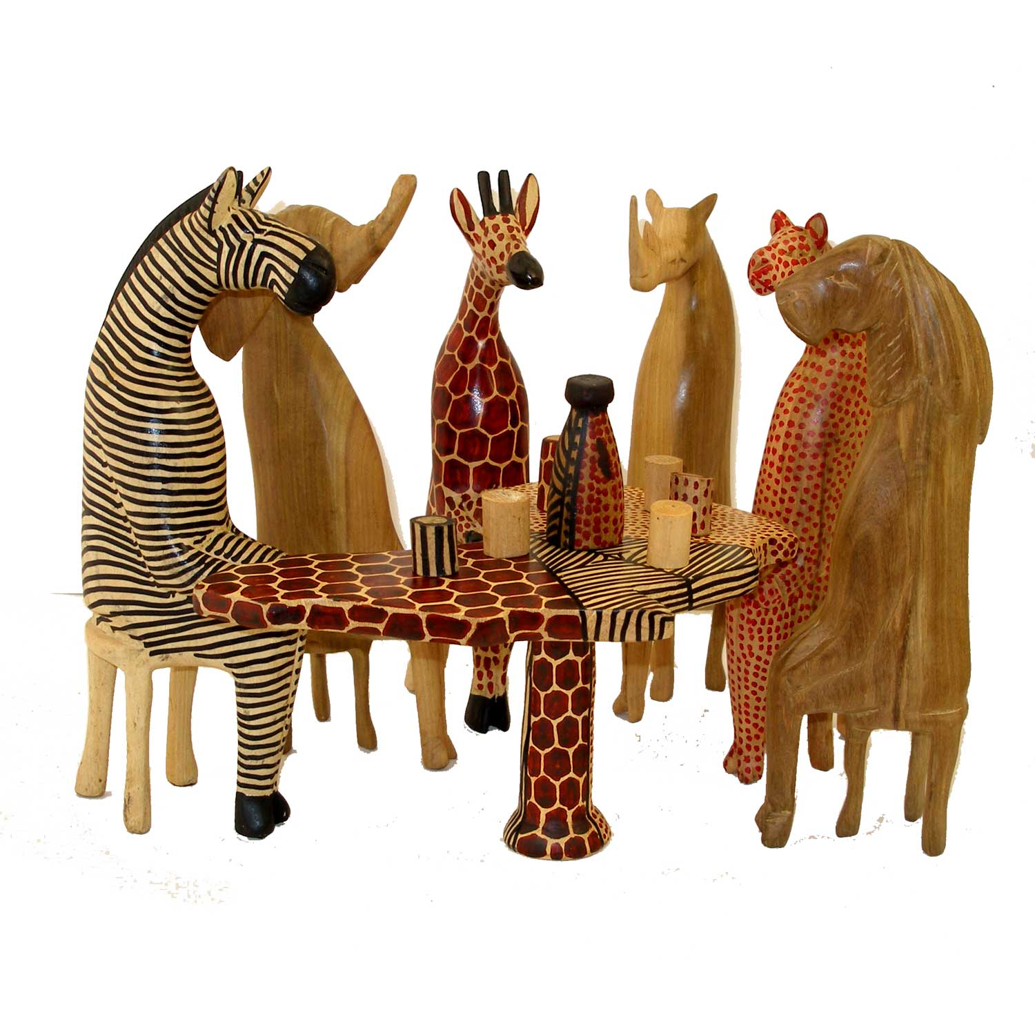 Jedando handicrafts party animal set roost and galley