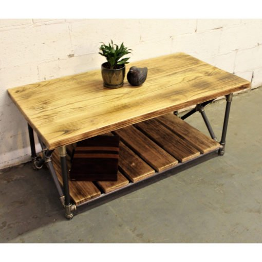Houston Industrial Chic Coffee Table Roost And Galley
