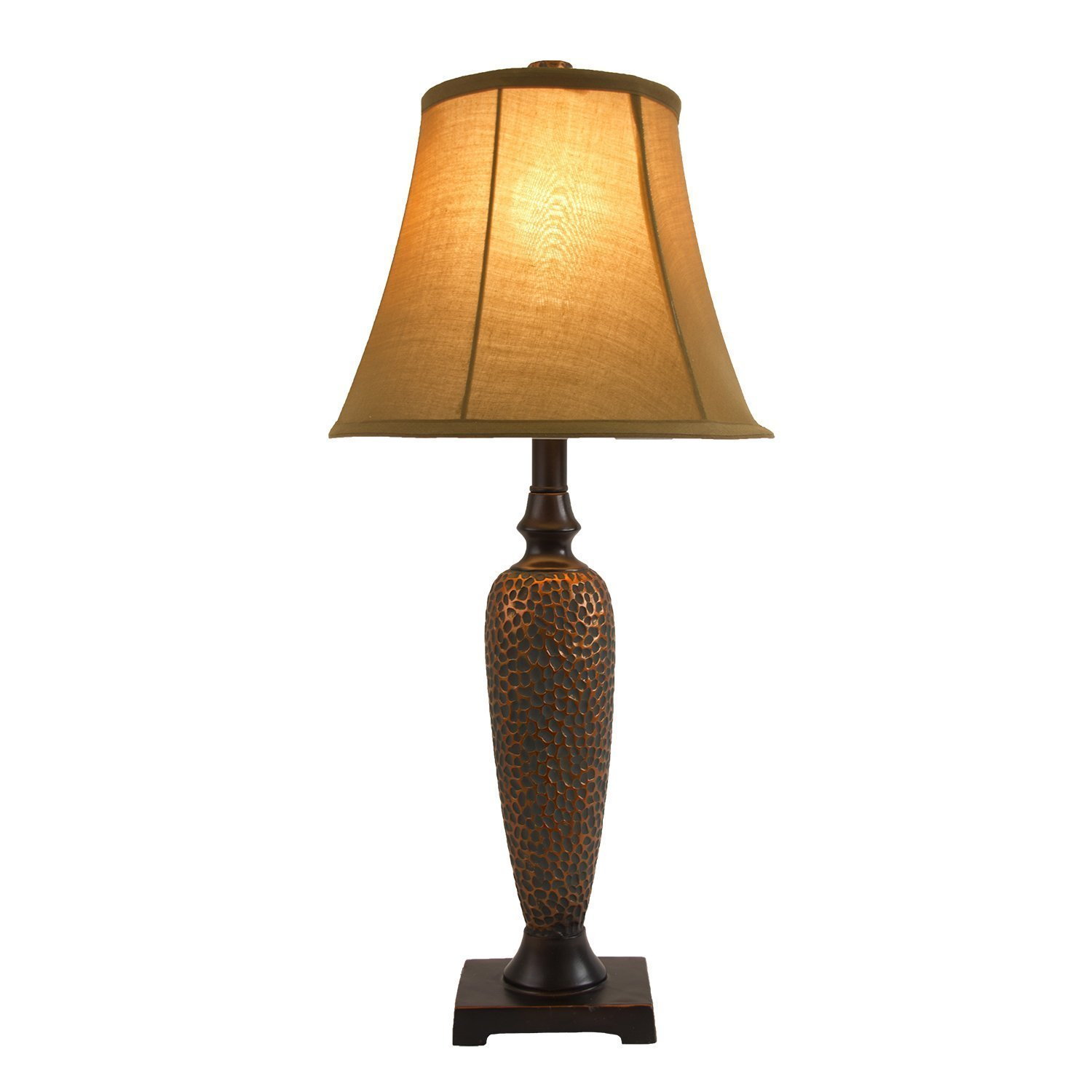 Elegant Designs Hammered Bronze Three Pack L& Set (2 Table L&s 1 Floor L&) - Roost and Galley  sc 1 st  Roost and Galley & Elegant Designs Hammered Bronze Three Pack Lamp Set (2 Table Lamps ...